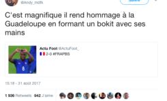 Le tweet du jour 1/09/17 Lemar - Guadeloupe - Bokit