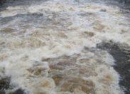 Brusque montée des eaux à Grand-Rivière en Martinique