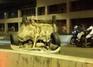 Accident matinal en Martinique