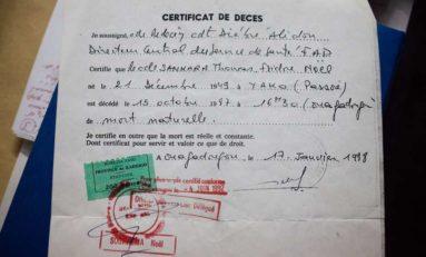 Qui a tué Thomas Sankara ?