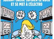 L'image du jour 22/11/17 - Charlie Hebdo -Johnny Hallyday
