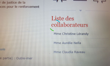 Le député Jean-Philippe Nilor embauche son amie Aurélie Nella comme collaboratrice parlementaire
