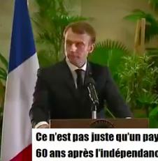 Emmanuel Macron au Ghana : heureusement qu'il y avait la climatisation