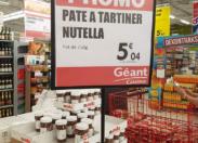 En Martinique avec Nutella...tu es nu (e) bien bien bien...et t'es là nu (e) comme un (e) con (ne)