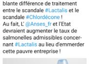 Le tweet du jour 08/02/18 - Lactalis - Chlordécone- France - Martinique- Guadeloupe