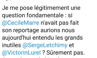Le tweet du jour 10/02/18 - Letchimy  - Lurel -Chlordecone -Épandage -