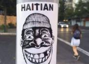 "Santiago du Chili : ""Haitian not welcome"""