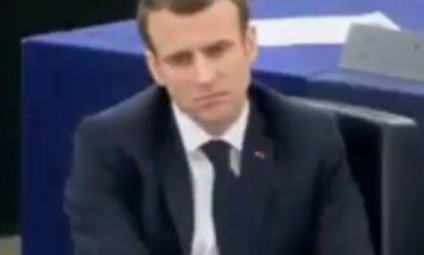 Emmanuel Macron en mode rougail saucisse à Strasbourg