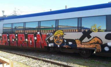 L'image du jour 19/04/18 - Street art - France - Macron