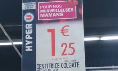 Fête des mamans en Martinique : Colgate puisque Hyper U guette