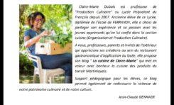 Quand une enseignante fonctionnaire fait la nique aux chefs cuisiniers en Martinique