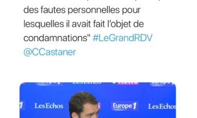 Le tweet infect du jour 03/06/18 - Castaner