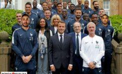 L'image du jour 20/06/18 - Équipe de France de football