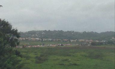 La RN5 fermée en Martinique