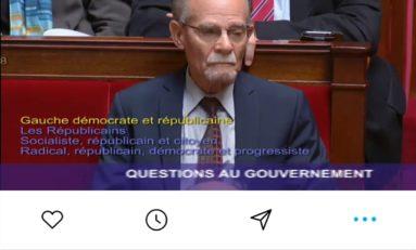 Il y a 3 ans...la mémoire en quête de paix des races, était là sans soeur à l'Assemblée Nationale française