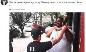 C'était il y a 4 ans... le seul type qui a été jeté en prison, c'est celui qui a pris la vidéo... 🤔