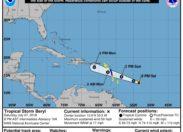 Beryl se désorganise et redevient tempête tropicale (comme prévu)