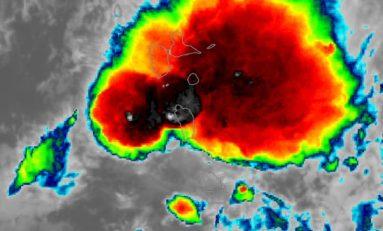 Guadeloupe, Dominique, en ce moment c'est Béryl