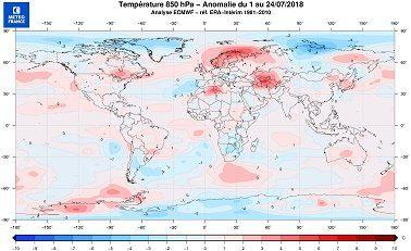 Des records de chaleur dans le monde entier... 😳