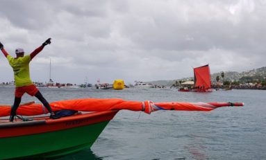 Tour de la Martinique des yoles rondes 2018 : Brasserie Lorraine / Sara se libère à Schoelcher (actualisé)