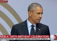 Discours de Barack Obama pour l'anniversaire des 100 ans de la naissance de Nelson Mandela