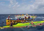 Tour de la Martinique des yoles rondes : quand Rosette/Orange (l'arme fatale) rime avec larmes fatales 😭😢😭😢😭
