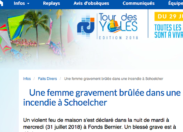 RCI Martinique met le feu à la langue de Colbert