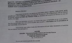 CHAUD...le chauffeur d'Alfred Marie-Jeanne le président du Conseil Exécutif de la Collectivité Territoriale de Martinique porte plainte pour diffamation
