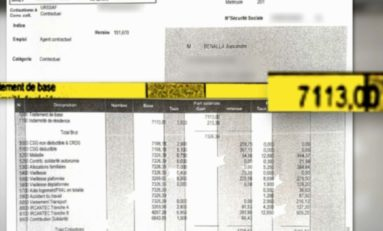 BFM TV révèle la fiche de paie de Alexandre Benella
