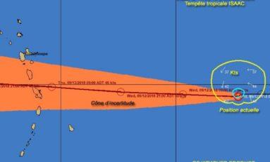 Isaac : la Guadeloupe et la Martinique entre l'orange et le rouge ?
