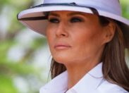 Melania Trump en mode Colbert Fashion Week au Kenya