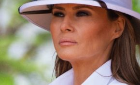 Melania Trump en mode Colbert Fashion Week au Kenya