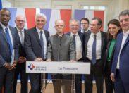 Alfred Marie-Jeanne reçoit les Présidents de Régions de France en Martinique