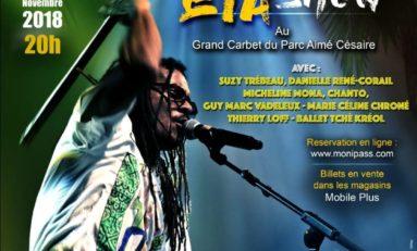 Max Télèphe en concert en Martinique