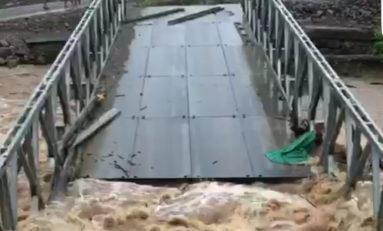 Grosses pluies à la Dominique