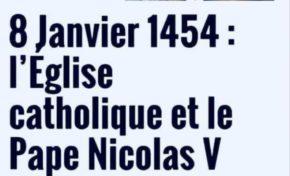8 janvier 1454...