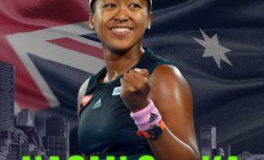 Open d'Australie : Naomi Osaka...Heroe Schéma