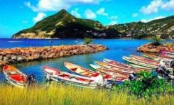 Image de Martinique - Port de pêche de Petite Anse aux Anses d'Arlet