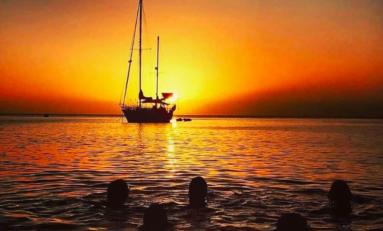 Image de Martinique - Coucher de soleil à Saint-Pierre