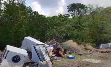 Les pollueurs sont des ordures - Pointe chaudière - Vauclin - Martinique