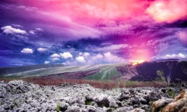 Île de La Réunion : le martiniquais Jérémy Edouard réalise l'une des plus belles photos de l'éruption du Piton de la Fournaise
