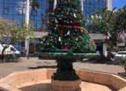 Didier Laguerre croit encore au Père Noël à Fort-de-France en Martinique