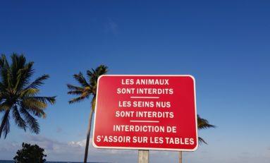 l'image du jour 21/04/19 - Plage de la Pointe Faula - Vauclin- Martinique