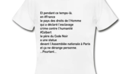 Et pendant ce temps-là en #France le pays des droits de l'homme qui a déclaré l'esclavage crime contre l'humanité...le tee-shirt