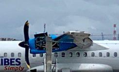 [Breaking] Panique à bord : un moteur en feu, le pilote ramène l'avion #AirCaraïbes (vidéo)