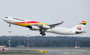 Air Belgium se posera en Martinique