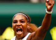 Serena Williams at home
