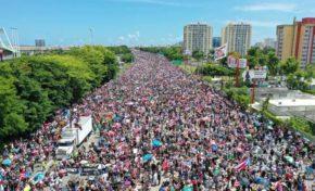 Pendant ce temps... à Puerto-Rico la révolte gronde