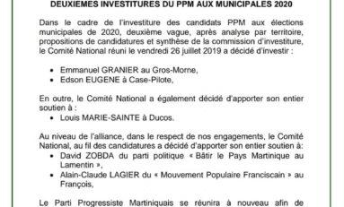 Municipales de 2020 en Martinique : il y aura t-il un manque à Granier au Gros-Morne ?