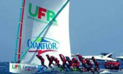 Tour de la Martinique des yoles rondes : UFR/Chanflor remporte la deuxième étape à Saint-Pierre